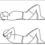 Posilování přímého břišního svalu (horní část)