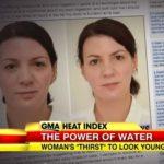 Pila tři litry vody denně a omládla o deset let!