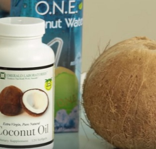 Kokosový olej je výborným zdrojem kyseliny laurové...