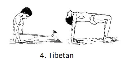 Cvik 4. Tibeťan