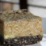 Svěží banánový koláč (dort) s karobem – raw recept