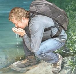 Nejčastějším způsobem, jak se lidé nakazí giardií, je po požití kontaminované vody.