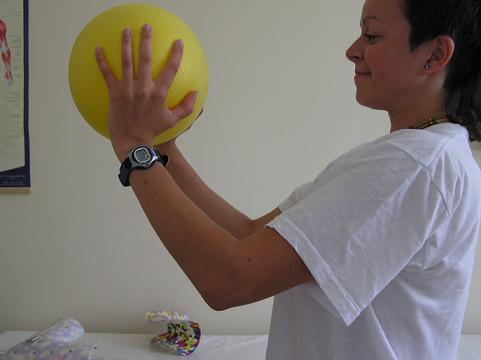 úchop míče