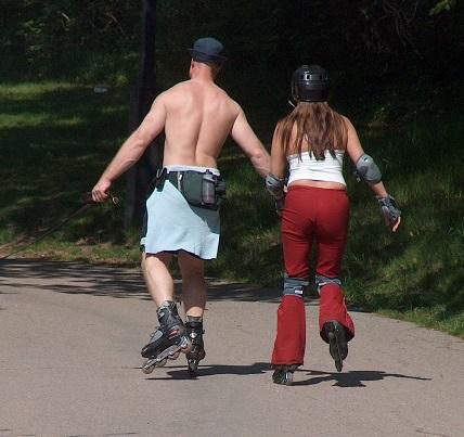 Jezděte na kolečkových bruslích i vy!