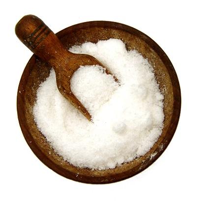Mořské řasy i mořská sůl