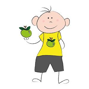 Děti by měly jíst hodně ovoce a zeleniny a hlavně se hýbat!