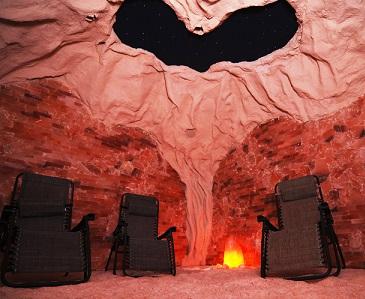Solná jeskyně je zdraví prospěšná