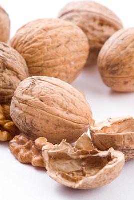 Ořechy jsou dobrým zdrojem bílkovin...