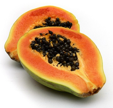Papája je bohatým zdrojem antioxidačních živin...