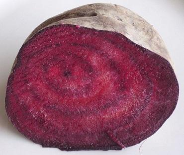 Červená řepa je skvělým zdrojem železa...