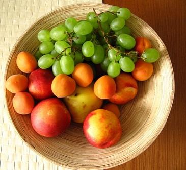 Ovoce a zelenina obsahuje mnoho vitamínů i minerálních látek...