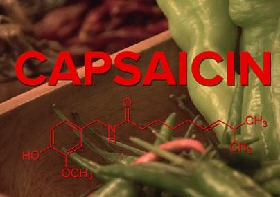 Kapsaicin je silný protizánětlivý prostředek.
