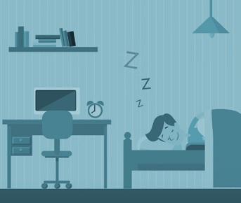 Pokud spíte jen šest hodin denně, tak máte v krvi až o 50% více kortizolu, než kdybyste spali osm hodin.