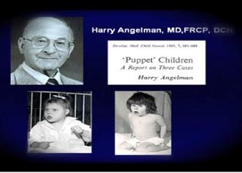 """Onemocnění se jinak označuje též jako Angelmanův syndrom dle svého """"objevitele"""" Dr. Angelmana..."""