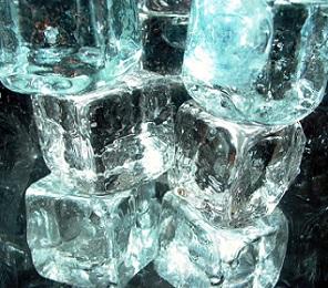 I kostka ledu může pomoci vaší kráse...