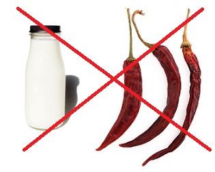 Mléko nebo chilli si při průjmu rozhodně nedávejte!