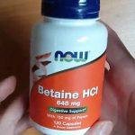 Betain a jeho účinky na naše zdraví (Betain HCL)