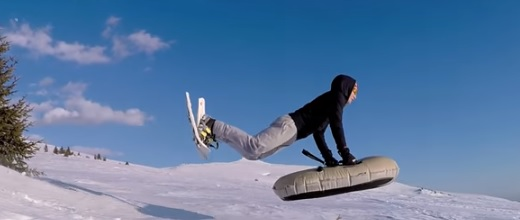 Tak co, zkusíte airboarding?