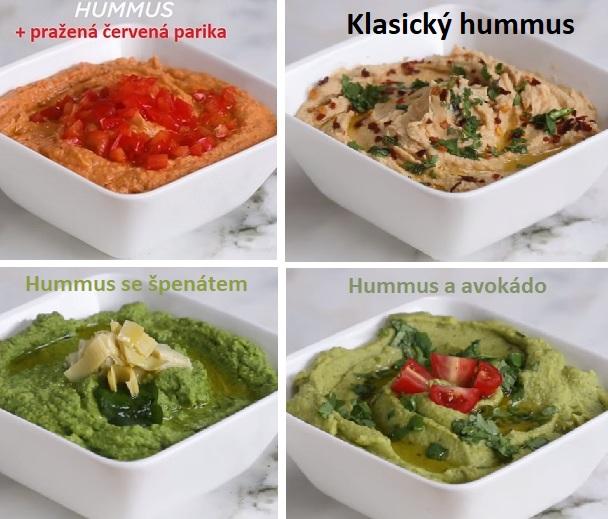 Hummus se dá jíst na mnoho různých způsobů.