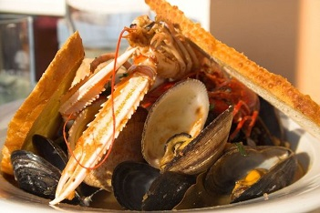 Mořské plody jsou dobrým zdrojem selenu.