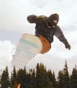 Nezkusíte snowborading? Je to sport, u kterého spálíte kalorie.