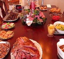 Je po Vánocích, takže se kroťte s jídlem.