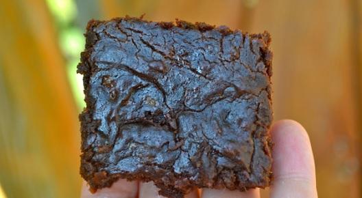 Takto vypadá batátové brownie.