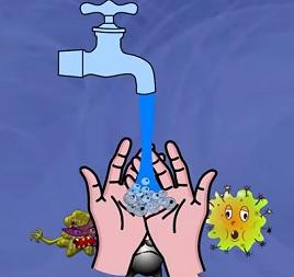 Myjte si ruce, to je dobrá prevence chřipky a různých nemocí.