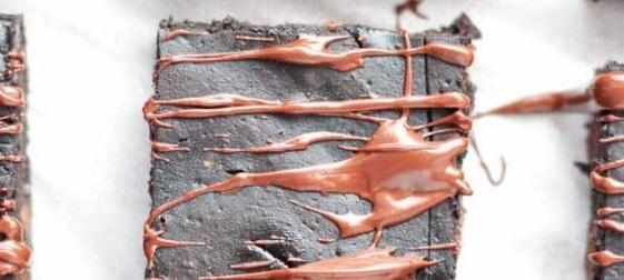 Takto vypadá dýňové brownie.
