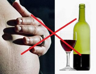 Alkohol a těhotenství - to opravdu nejde k sobě.