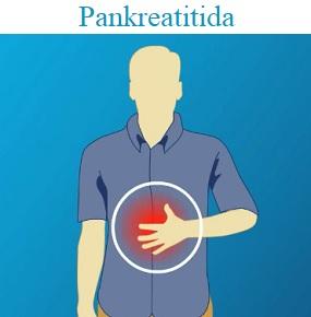 Bolest v horní části břicha je nejčastějším příznakem pankreatitidy.