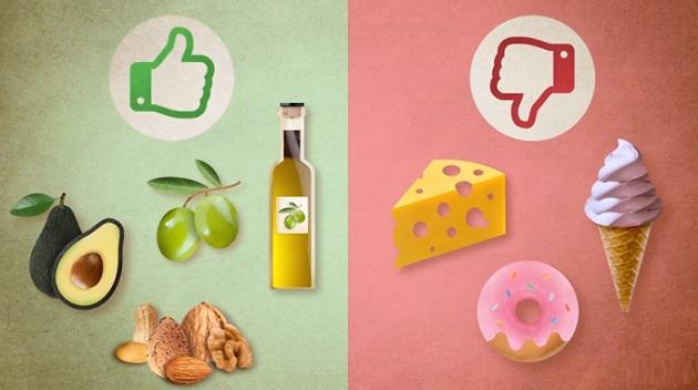 Některé tuky jsou zdravé, jiné nezdravé. Udělejte si v tom jasno. Je to pro vaše dobro.