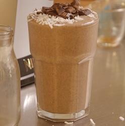 Kokosovo-kakaový raw pohár