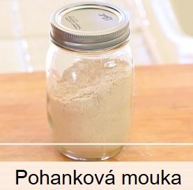 Pohanková mouka obsahuje hodně cenných látek pro naše zdraví.