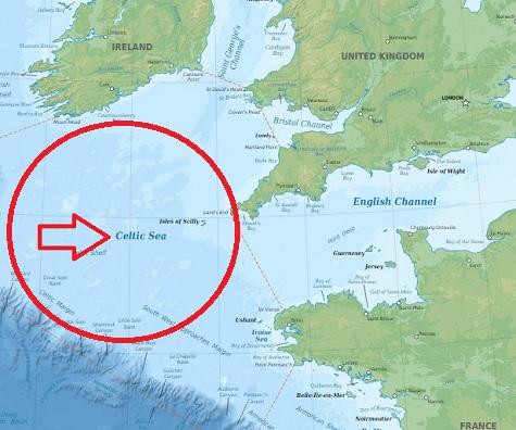 Keltské moře je okrajové moře Atlantského oceánu ležící jižně od pobřeží Irska, mezi Francií, Anglií a Irskem.