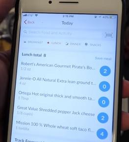 Weight Watchers nabízí i mobilní aplikaci.