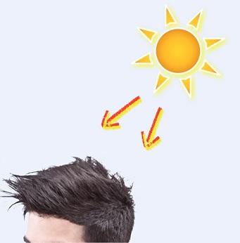 Slunce může vaše vlasy ohrozit. Dejte na to pozor.
