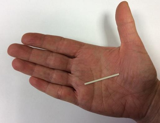 Takto vypadá antikoncepční tyčinka.