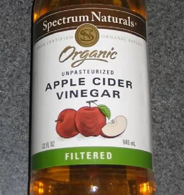 Se dnou vám může pomoci jablečný ocet.