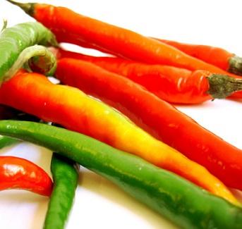 Chilli papričky umí efektivně zrychlit metabolismus.
