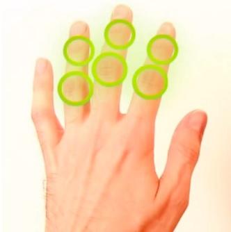 RSI syndrom často ovlivňuje prsty, zápěstí a ruce obecně. Ale problémy může dělat i jinde na těle. Záleží na vaší činnosti.