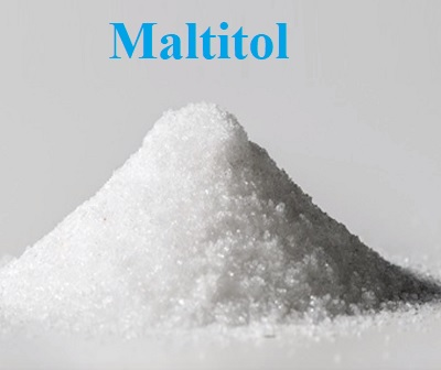 Maltitol je složka, která se často vyskytuje v nízkokalorických potravinách a v potravinách bez cukru.
