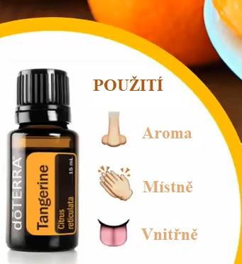 Mandarinkový olej pomáhá v boji proti celulitidě.