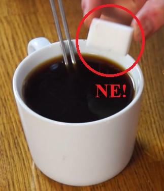 Opravdu si chcete dobrou kávu kazit nezdravým cukrem?