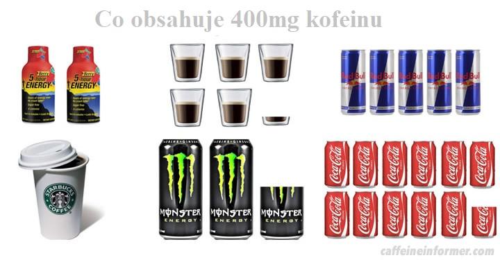 V čem najdete cca 400mg kofeinu?