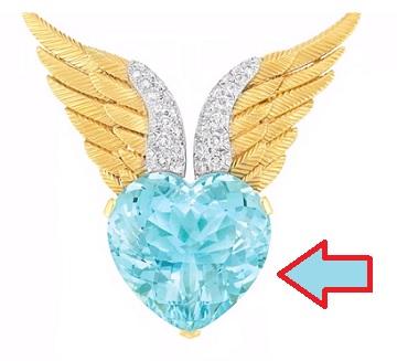 Takto krásně může vypadat vybroušený akvamarín ve šperku.