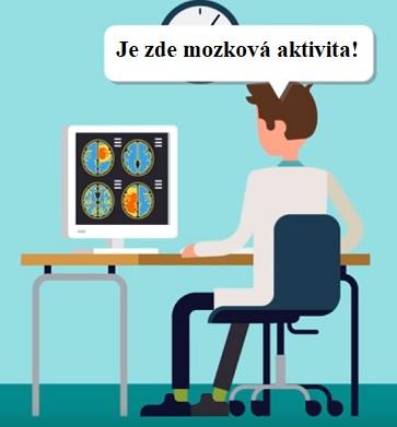Postižená osoba nemůže komunikovat, ale je si vědoma svého okolí; pacient může slyšet a vidět a má normální inteligenci a schopnost rozumět, ale může komunikovat pouze pohyby očí.