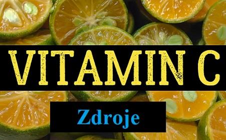 Podívejte se na přírodní a přirozené zdroje vitamínu C.