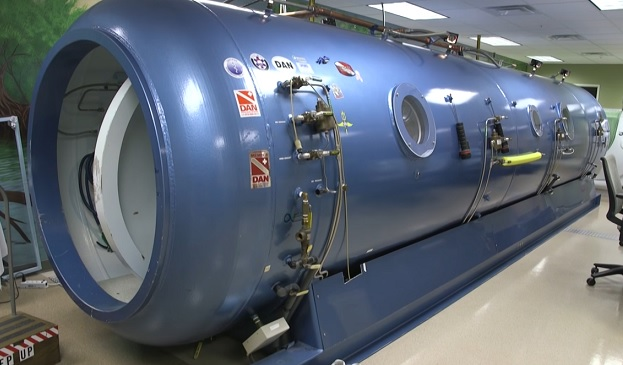 Takto může vypadat hyperbarická kyslíková komora.