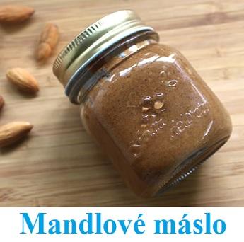 Mandlové máslo si zvládnete vyrobit i doma.